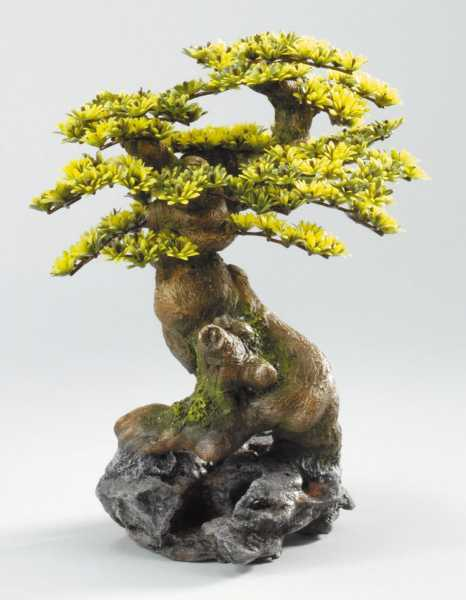 Decor-Stein Bonsai+Stein, Polyrin, ca 19 x 23 x 28 cm)